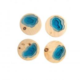 Terracing-Series-Blue-Set-of-4