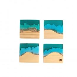 Sea-Series-Coaster-Square-Set-of-4