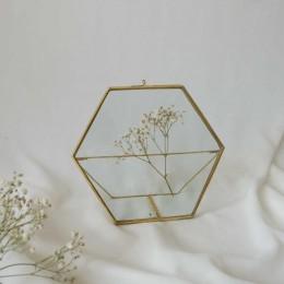 Hexa-Brass-Standing-Frame