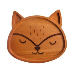 Fox-Wooden-Food-Tray