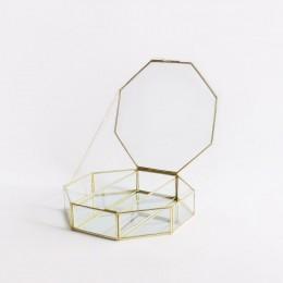 Hexa-Brass-Storage-with-Mirror-Compartment