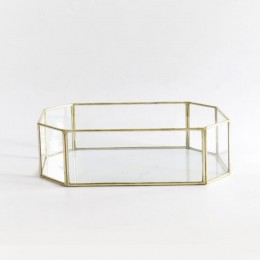 Geometric-Brass-Tray