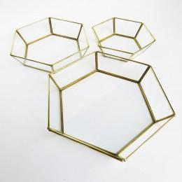 Hexa-Brass-Multifuctional-Tray