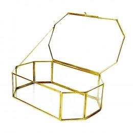 Geometric-Brass-Box