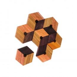 hexagonal-wooden-coaster